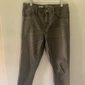 Mossimo grey high rise jegging